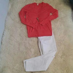 Max Jeans, white